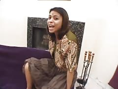 Perverted amateur Indian girl cheating and fucking with her new friend
