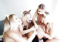 Evilangel - Five Lesbians Wildass Anal Orgy