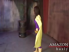 Amazon Woman Destroys The Purple haze ChiChi Medina HARDCORE