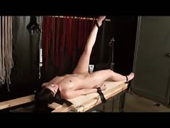 Crazy abused slut being fucked by her master in a hot BDSM video