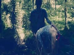 Spanking in the Forest