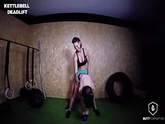 Sexy Pornstars CrossFit