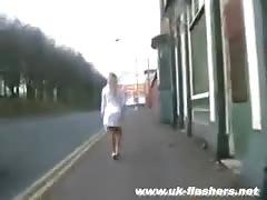 Teen pornstar Crystel Lei flashing