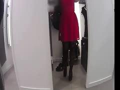 trocar roupa no provador
