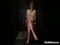 Bashka loves sucking cock at the gloryhole