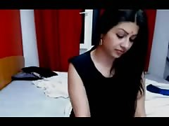 Indian girl fucks boyfriend live on funcamsxxx.com