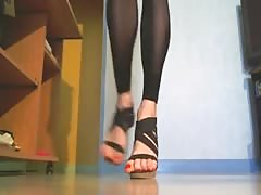 mes pieds vernis