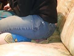 Facesitting In Jeans PT 2