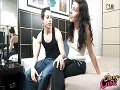 Really hot young amateur couple