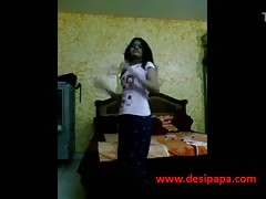 indian sexy teen stripping naked